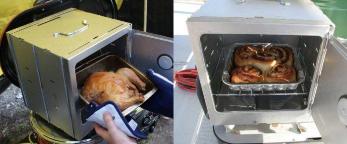 Four pliant de camping Coleman – Exemples d'utilisation