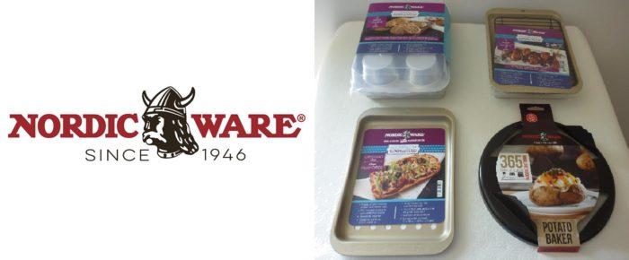 Plats de cuisson Nordic Ware pour le four pliant de camping Coleman
